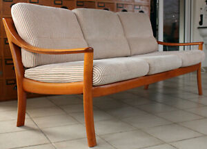 KNOLL WILHELM SOFA COUCH DAYBED Danish Design Mid Century 60er Vintage