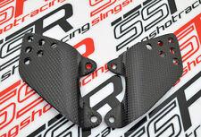 Kawasaki ZRX 1100 1200 ZRX1100 ZRX1200 Heel Peg Guards Plates Carbon Fiber Fibre