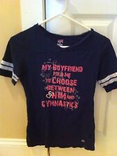 Gymnastics Boyfriend Shirt Child Medium