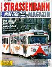 Strassenbahn Magazin Nahverkehr n°159 (01/2003) Brême Ukraine Citadis Pforzheim