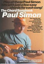 Paul Simon The Chord Songbook Guitar Sheet Music Lyrics Chords Graceland B64