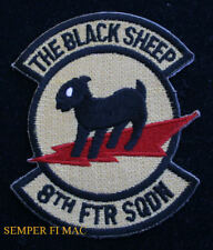 8TH FS FIGHTER SQUADRON PATCH F-117 STEALTH US AIR FORCE Holloman AFB PIN UP F22