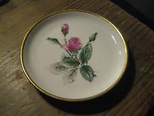 Stonegate Germany China Bavarian Sonata Rose Rosebud 1960s Vanity Boudoir Plate