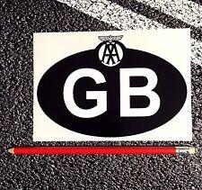 GB ID Sticker + Classic AA Garage Car Motorhome van breakdown services recovery