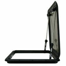 Saw 575mm Marine Boat Access Hatch and Lid - Black