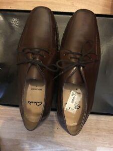 Clarks Mens Lace Up Shoes (UK 8)
