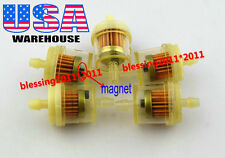"5x SUZUKI ATV DIRT BIKE INLINE GAS CARBURETOR FUEL FILTER 1/4"" 6mm-7mm ENGINE S9"