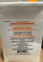 One Sealed Starbucks Mango Dragonfruit Refresher Juice Base May 2020 Or Later