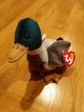 TY Beanie Babies Jake the Duck Retired Rare Errors Stamp Tag #453