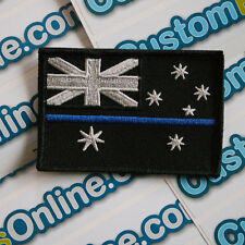 Australian Aussie Flag Patch with subdued Patch Hook Velcro® Tactical Backing