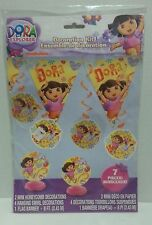 Dora the Explorer Decoration Kit  Birthday Party Supplies Banner Nick Jr