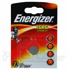 2 x Energizer CR1616 DL1616 BR1616 3V Lithium Coin Cell Battery