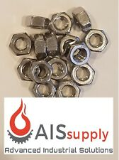 "(200) 1/4""-20 Hex Nuts, 18-8 Stainless"