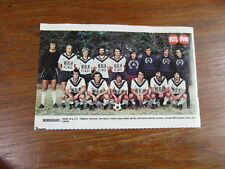 Photo-poster FOOTBALL vintage : FC GIRONDINS DE BORDEAUX saison 1976-1977