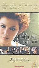 THE HOUSE OF MIRTH VHS PAL GILLIAN ANDERSON,DAN AYKROYD,ELIZABETH McGOVERN