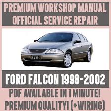 * Manuale Officina Assistenza e Riparazione Guida Per Ford Falcon 1998-2002 + Cablaggio