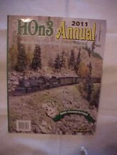 2011 Magazine Book, HON3 ANNUAL; HO Narrow Gauge MODEL RAILROADING