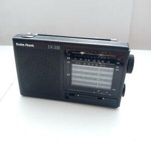 Radio Shack DX-350 12-Band Shortwave world Radio am fm lw sw 20-209a free shipp