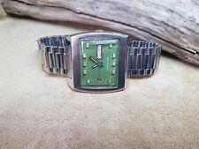 RARE Vintage anni'70 RADO MANHATTAN Verde Quadrante Daydate Automatico Uomo'S Watch