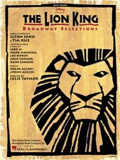The Lion King Broadway Selections Learn to Play Beginner EASY Piano MUSIC BOOK