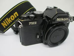 Nikon FM2N Black Camera Body