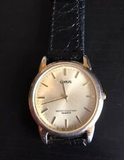 Reloj de Cuarzo para hombres de resistencia al agua LORUS Vintage