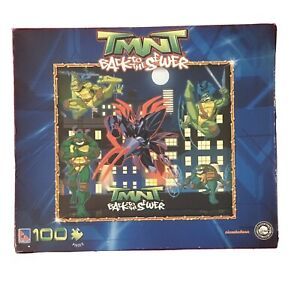 Nickelodeon TMNT Back To The Sewer 100 Pc Jigsaw Puzzle 2010 Rare Sealed NIB