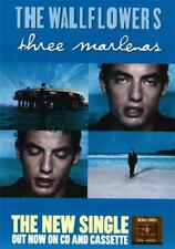 The Wallflowers : Jakob Dylan : Three Marlenas Uk Promo Poster