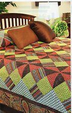 Modern Bohemian Quilt Pattern Pieced SM