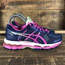 Women's Asics Gel Kayano 22 Blue Athletic Shoes Size 6