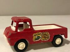Vintage Tootsietoy Pick-Up Truck Wheelie Wagon 1969 Metal Red