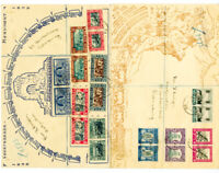 South Africa Stamps Rare 1938 Set on First Day Cover Rarity on FDC