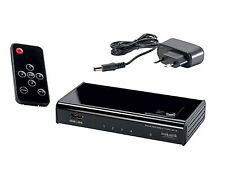 Inakustik Premium HDMI Switch Switchbox 4K 4 > 1 High Speed 3D