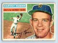 1956 Topps Harvey Kuenn . #155