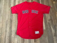 Andrew Cashner Team Issued Boston Red Sox Red Alternate Jersey MLB Authenticated