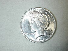 1922 US Peace Silver Dollar Choice Brilliant Uncirculated Bright White