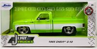 JADA 1:24 JUST TRUCKS MIJO EXCL 1985 CHEVY C-10 CUSTOM W/CARTELLI WHEELS