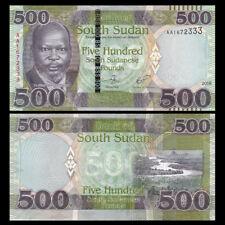 South Sudan SD SUDN, 500 Pounds, 2018, P-NEW, UNC