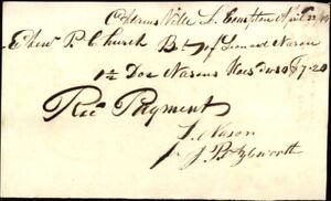 1844 Little Compton Adamsville RI Eden P. Church Leonard Nason J. P. Aylesworth