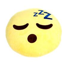 Love Bomb Original Emoji Sleepy Face Cushion Pillow Home 34cm Fun Gift NEW