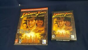 Indiana Jones & the Emperor's Tomb Lucasarts PC game 2003 Strategy Guide SEALED