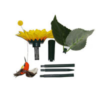 Solar Battery Powered Flying Fluttering Hummingbird - Free Bird Home Garden