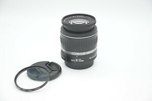 Canon EF-S 18-55mm f/3.5-5.6 II Lens w/UV Filter MINT Condition