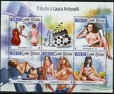 GUINEA BISSAU  2015   HOMMAGE TO LAURA  ANTONELLI  SHEET MINT NH