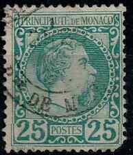 TIMBRE MONACO 1885 n°6 Oblitéré