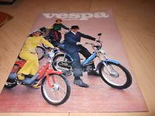 NOS NEW Vintage Vespa Dealer Models Folder Copyright 1978