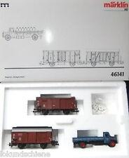 Stückgutverkehr  Wagen-Set  Märklin HO  46141#4837