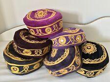 Oriental Folkloric Fez, Authentic Turkish Fes, Handmade Cap, Exotic Ethnic Hat