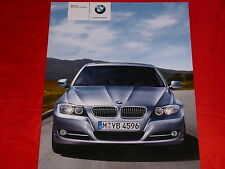 BMW 3er E90 Limousine 318i 320i 325i 330i 335i 318d 320d 330d 335d Prospekt 2009