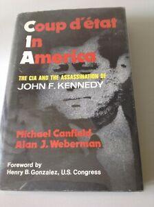 Coup d'etat in America (1975) - JFK Assassination book. Hardcover.